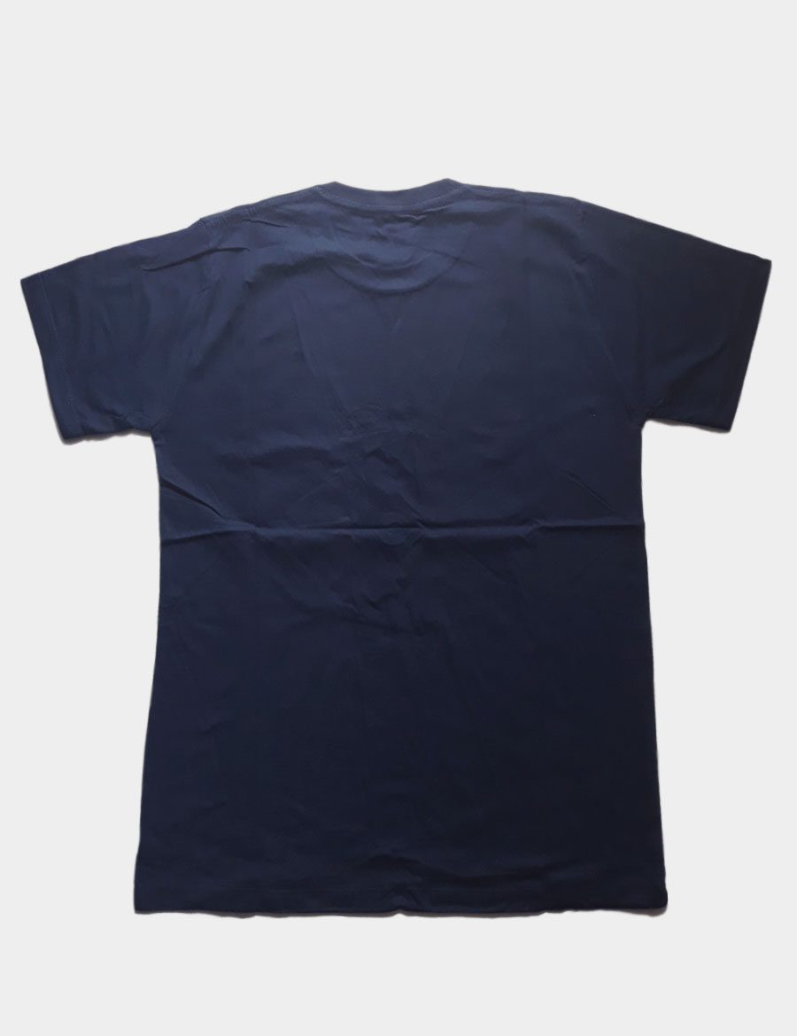Navy Blue T-shirt Back View